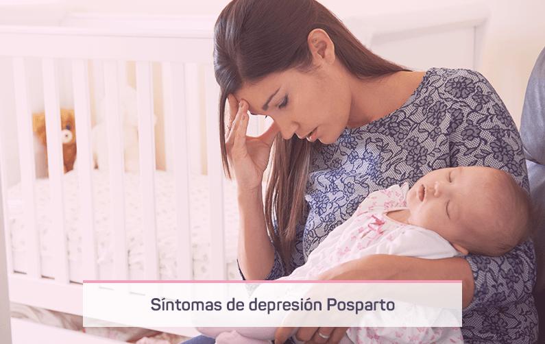 Conoce todos los síntomas de depresión postparto en mujeres