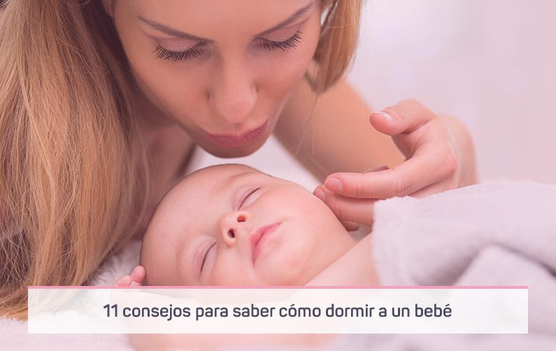 11 Consejos para saber cómo dormir a un bebé recién nacido
