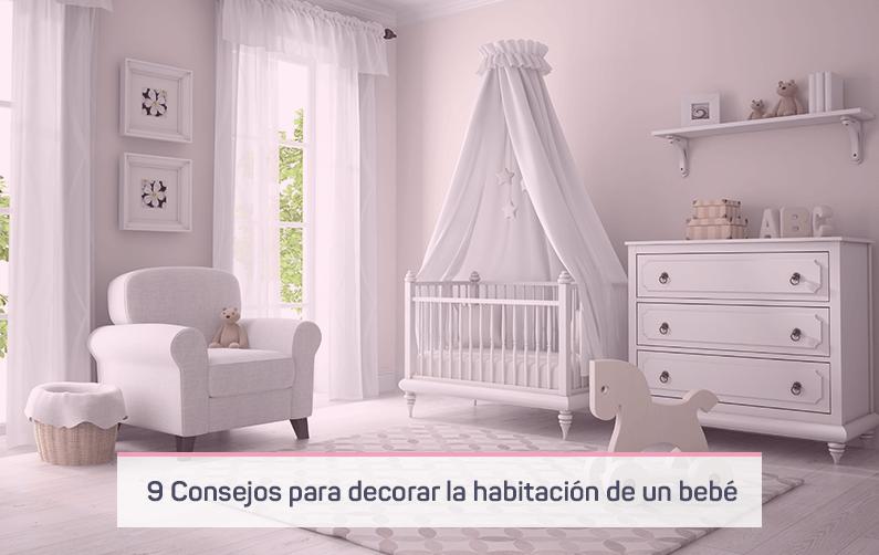 9 consejos para saber cómo decorar la habitación de un bebé