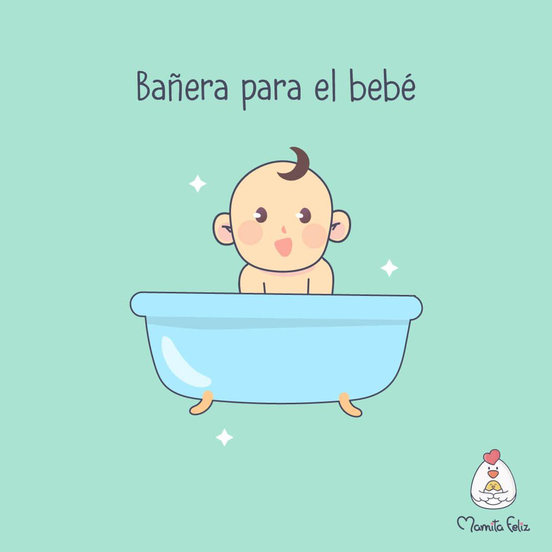 bañera de bebe para mama primeriza