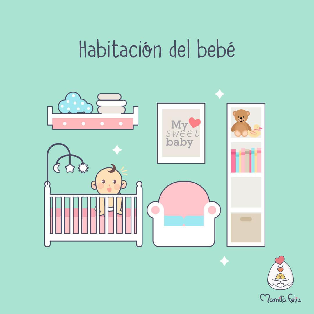 cuna para habitacion de bebe