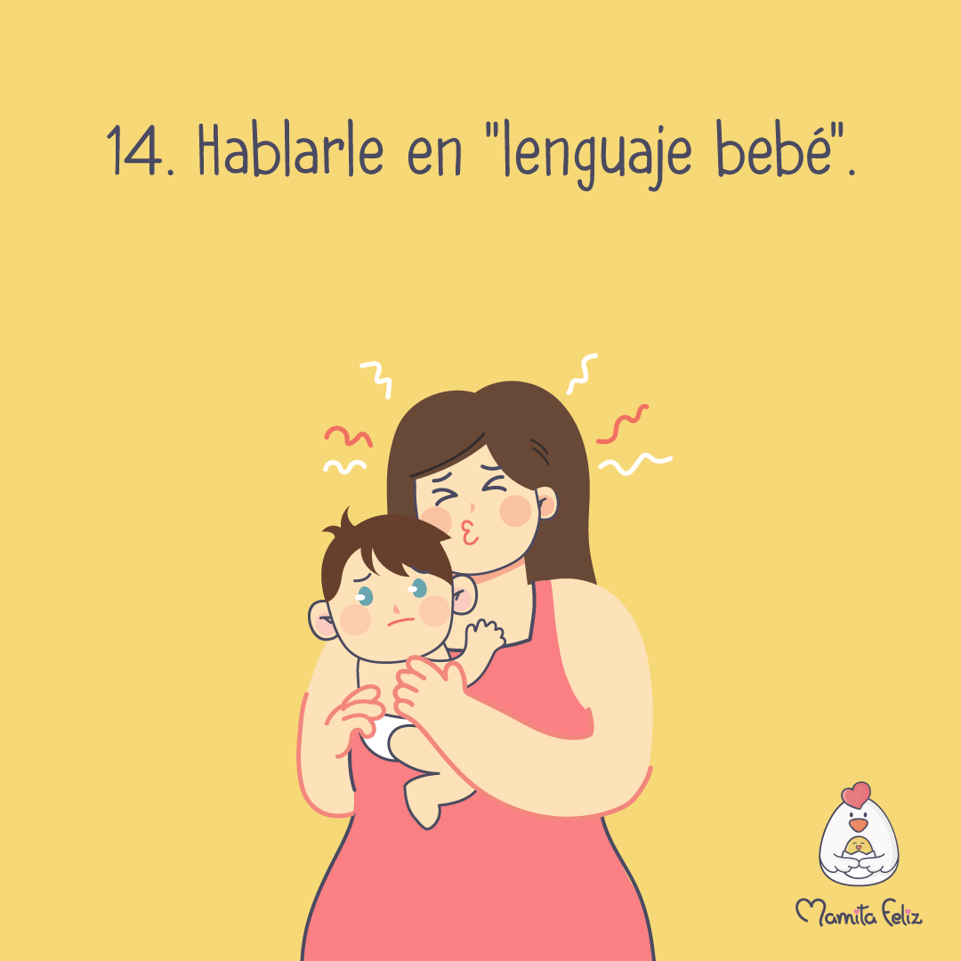 como hablarle a un bebe