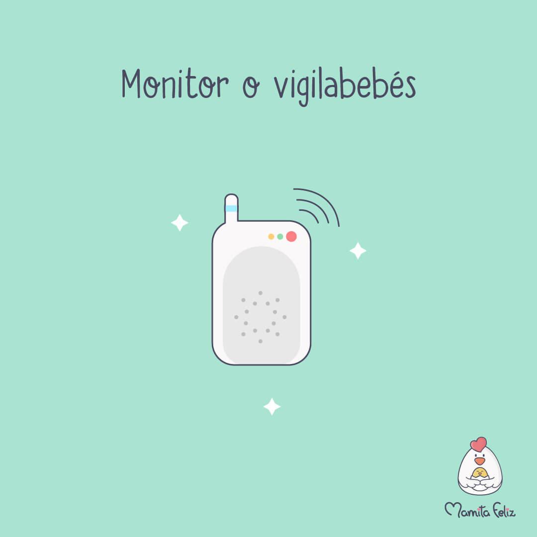 monitor de bebe regalo para mama primeriza