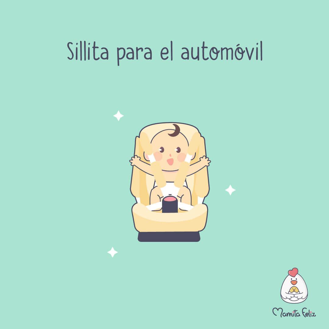 silla de automovil regalo para madre primeriza