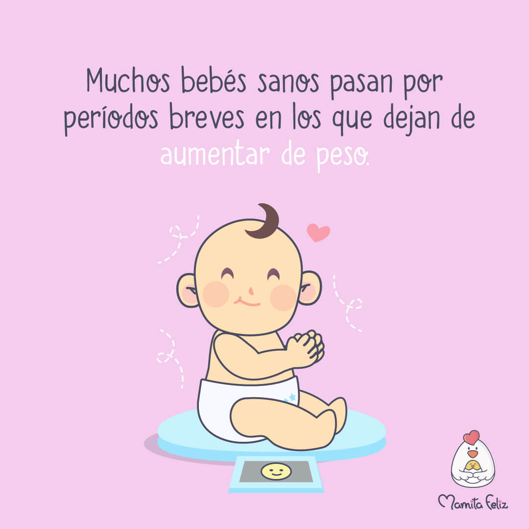 peso sano del bebe