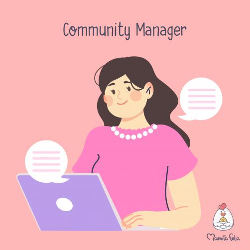 community manager uno de los trabajos para mamás solteras